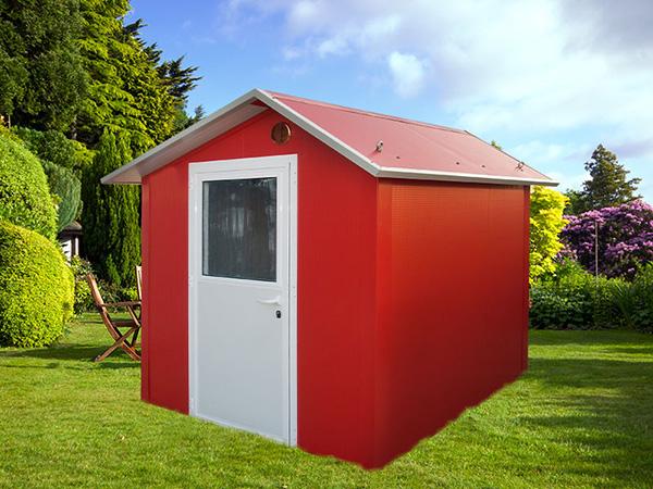 E se la manutenzione non fosse pi necessaria - Casette da giardino colorate ...