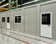 11 moduli ufficio di Blutecnica in Wärtsilä Italia