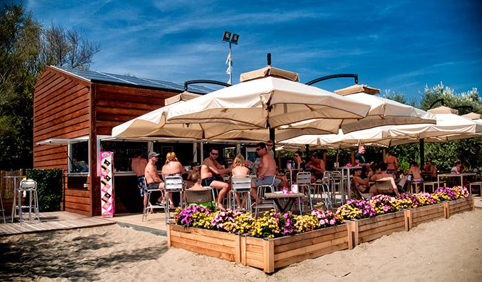 Chiosco Spiaggia a Eraclea Mare - BluTecnica