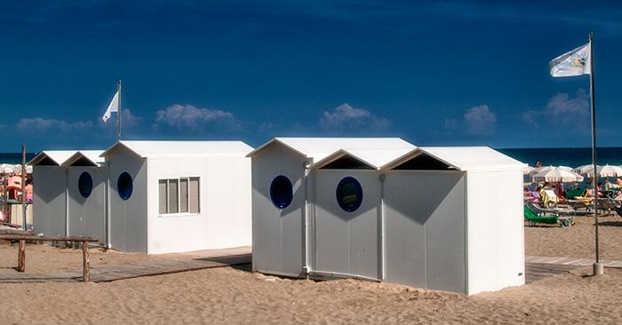 Moduli per servizi spiaggia a Eraclea Mare (VE)